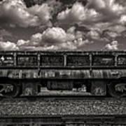 Gravel Train Art Print