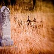 Graveyard 6792 Art Print