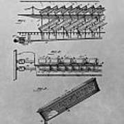 Graveyard Patent Art Print