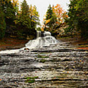 Laughing Whitefish Falls Art Print