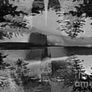 Grayscale Vision Trip Art Print