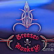 Greased Monkey Art Print