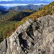 Great Balsam Mountains - Blue Ridge Parkway Art Print