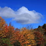Great Balsam Mountains In The Fall Art Print