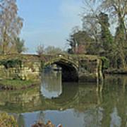 Great Bridge Warwick Art Print