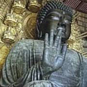 Great Buddha Of Nara Japan Art Print