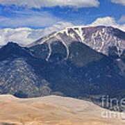 Great Colorado Sand Dunes 125 Art Print