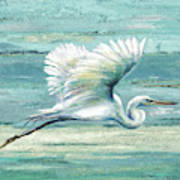 Great Egret I Art Print