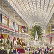 Great Exhibition, 1851 South Transept Art Print