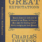 Great Expectations By Charles Dickens Book Cover Poster Art 1 Art Print