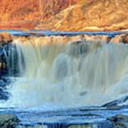 Great Falls 14133 Art Print