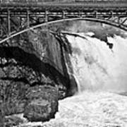 Great Falls In Paterson Nj Art Print