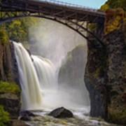 Great Falls Mist Art Print