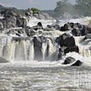 Great Falls Of The Potomac River Art Print