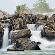 Great Falls Panoramic Art Print