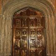 Great Hall Entrance Door Art Print