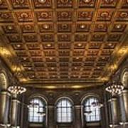 Great Hall St. Louis Central Library Art Print