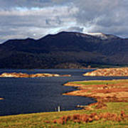 Lakes Of Ireland, Waterville, County Kerry Art Print