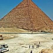 Great Pyramid Of Giza Art Print