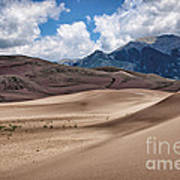 Great Sand Dunes #6 Art Print