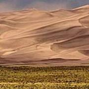 Great Sand Dunes In Colorado Art Print