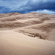 Great Sand Dunes National Park In Colorado Art Print