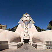 Great Sphinx Of Giza Luxor Resort Las Vegas Art Print