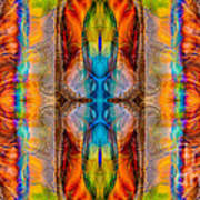 Great Spirit Abstract Pattern Artwork By Omaste Witkowski Art Print