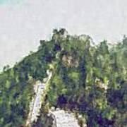 Great Wall 0033 - Plein Air 2 Sl Art Print