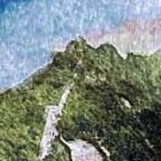 Great Wall 0033 - Watercolor 2 Sl Art Print