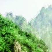 Great Wall 0043 - Academic Art Print