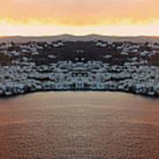 Greece Double Vision #154 Art Print