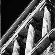 Greek Columns Art Print