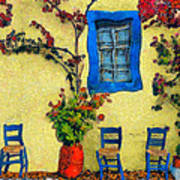Greek Corner 1 Art Print