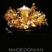 Greek Gold - Macedonian Gold Art Print