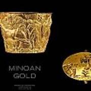 Greek Gold - Minoan Gold Art Print