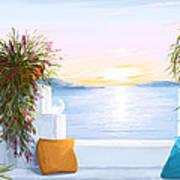 Greek House Art Print