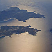 Greek Islands In The Aegean Sea   #7428 Art Print