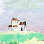 Greek Orthodox Church Art Print