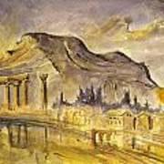 Greek Ruins Art Print