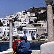 Greek Traveler Art Print
