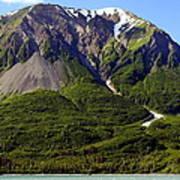 Green Alaska Art Print