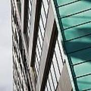 Green Architectural Detail Art Print