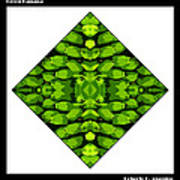 Green Banana Art Print