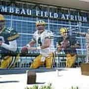 Green Bay Packers Lambeau Field Art Print