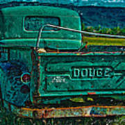 Green Dodge Art Print