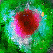 Green Eye Of Heaven Art Print