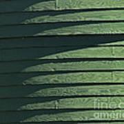Green Facade Art Print