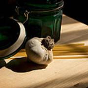 Green Glass And Garlic Art Print