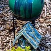 Green Globe Art Print